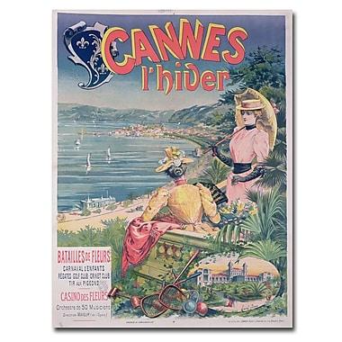 Trademark Fine Art Emmanuel Brun 'Casine des Fleurs Cannes 1892' Art