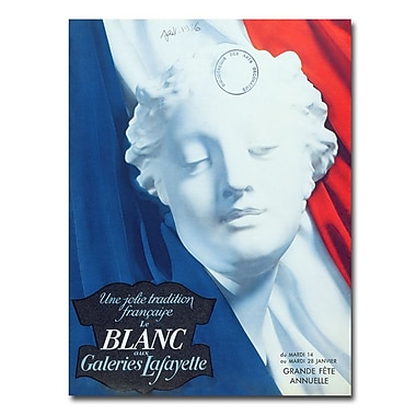 Trademark Fine Art Galeries Lafayette 1936' Canvas Art