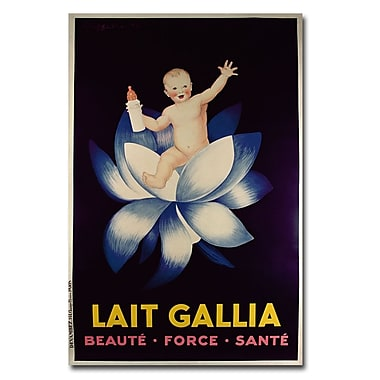 Trademark Fine Art Lait Gallia 1931' Canvas Art