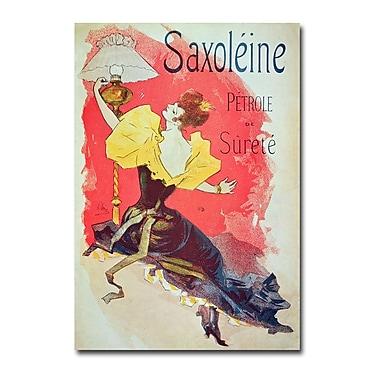 Trademark Fine Art Jules Cheret 'Saxoleine' Canvas Art