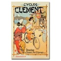 Trademark Fine Art 'Cycles Clement' Canvas Art