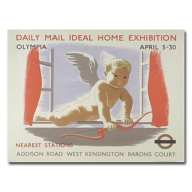 Trademark Fine Art Home Exibition at Kensington Olympia 1938' Canvas Art