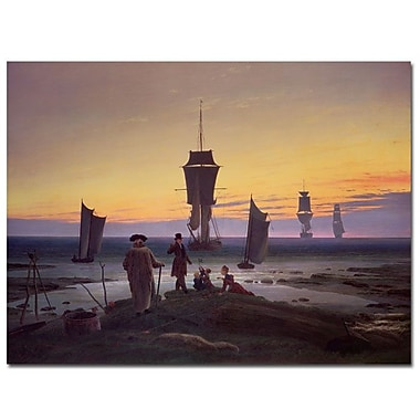 Trademark Fine Art Caspar Friedrich 'The Stages of Life, 1835' Canvas Art