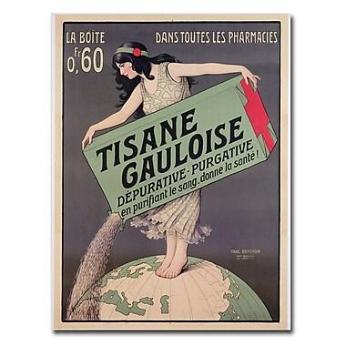 Trademark Fine Art Paul Brethon Tisana Gauloise 1900' Canvas Art