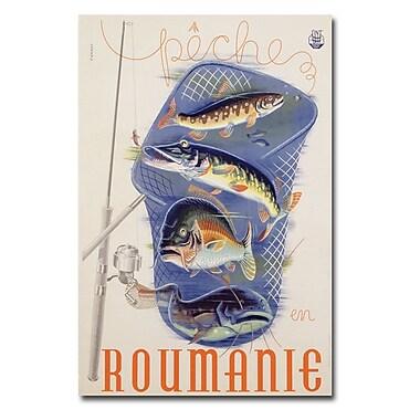 Trademark Fine Art Romanian 1932' Canvas Art 22x32 Inches