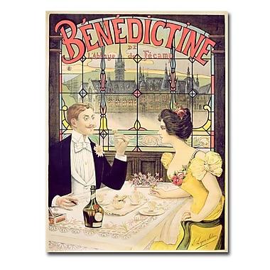 Trademark Fine Art Lucas Silva 'Benedictine 1898' Canvas Art
