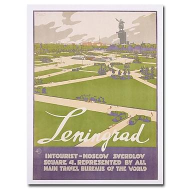 Trademark Fine Art Leningrad 1930' Canvas Art