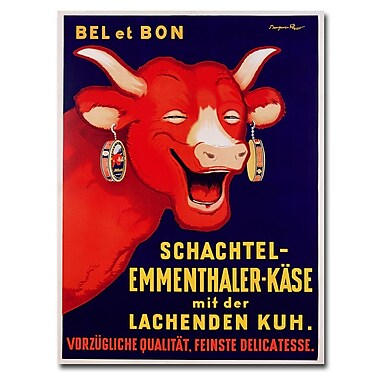 Trademark Fine Art Benhamin Rabier 'Bel et Bon 1929'