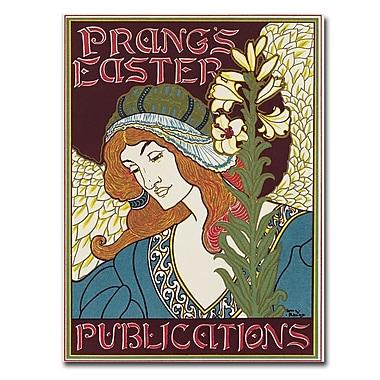 Trademark Fine Art Louis Rhead 'Prang's Easters Publications 1896' Canvas Art