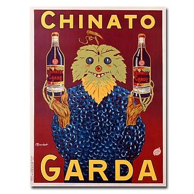 Trademark Fine Art Bouchet 'Chinato Garda 1925' Canvas Art