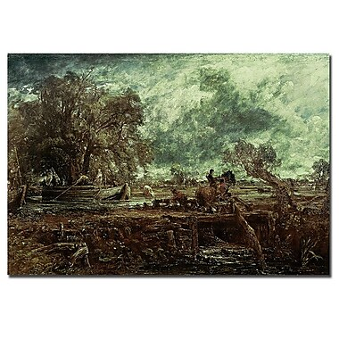 Trademark Fine Art John Constable Study for the Leaping Horse, 1824' Canvas Art