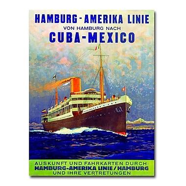 Trademark Fine Art Cuba-Mexico 1899' Canvas Art