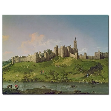 Trademark Fine Art Canatello 'Alnwick Castle' Canvas Art
