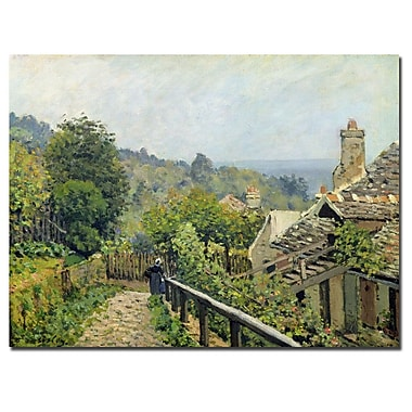 Trademark Fine Art Alfred Sisley 'Louveciennes 1873' Canvas Art