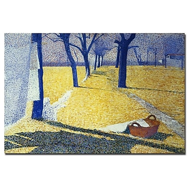 Trademark Fine Art Giuseppe Pellizza da Volpedo, 'Washing in the Sun' Canvas