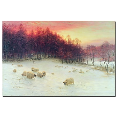Trademark Fine Art Joseph Farquharson 'Glowing Evening Hours in the West' Art