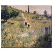 Trademark Fine Art Pierre Renoir 'The Path Through the Long Grass 187 26x32 Inches
