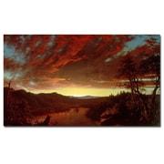 Trademark Fine Art Frederic Church 'Twilight in the Wilderness' Canvas Art