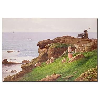 Trademark Fine Art J. Hardwicke Lewis 'The Pet Lamb' Canvas Art