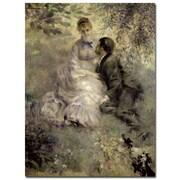 Trademark Fine Art Pierre Auguste Renoir 'The Lovers c.1875' Canvas A