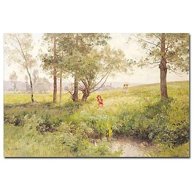 Trademark Fine Art Emile Isenbart 'Landscape' Canvas Art
