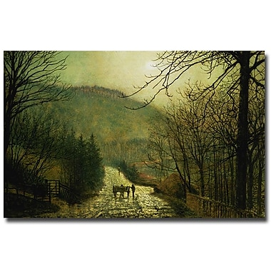 Trademark Fine Art John Grimshaw, 'Forge Valley' Canvas Art