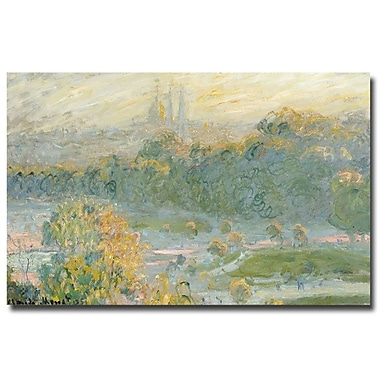 Trademark Fine Art Claude Monet 'The Tuileries' Canvas Art