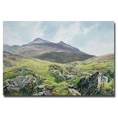 Trademark Fine Art John Atkinson Grimshaw 'Autumn Sunshine' Canvas Art