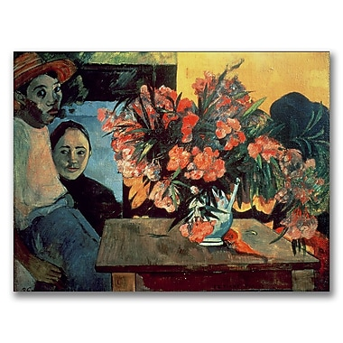 Trademark Fine Art Paul Gauguin 'Te Tiare Farani 1891' Canvas Art 35x47 Inches