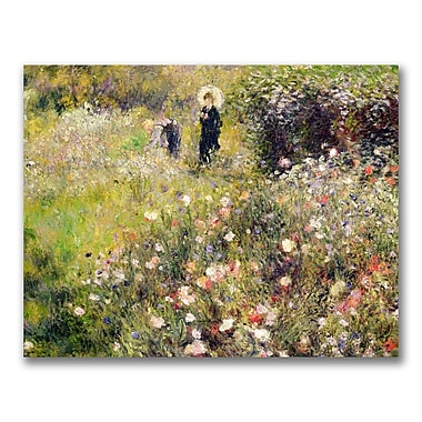 Trademark Fine Art Pierre Renoir 'Summer Landscape' Canvas Art 35x47 Inches