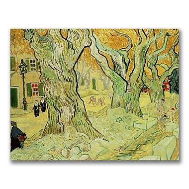 Trademark Fine Art Vincent Van Gogh 'The Road Menders' Canvas Art