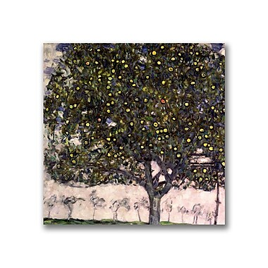 Trademark Fine Art Gustav Klimt 'The Apple Tree' Canvas Art