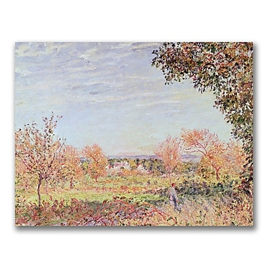 Trademark Fine Art Alfred Sisley 'September Morning' Canvas Art