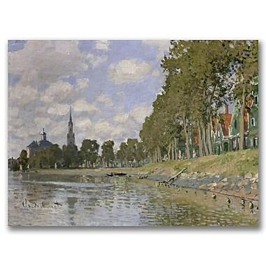 Trademark Fine Art Claude Monet 'Zaandam 1871' Canvas Art