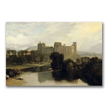 Trademark Fine Art Joseph Turner 'Cockermouth Castle' Canvas Art 22x32 Inches