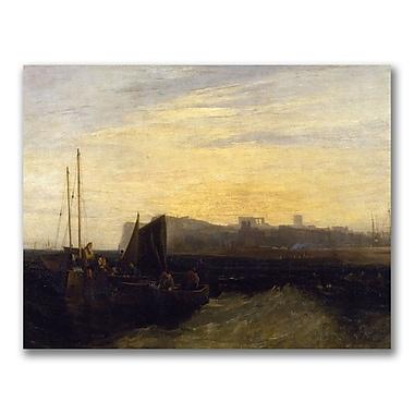 Trademark Fine Art Joseph Turner 'Margate 1808' Canvas Art