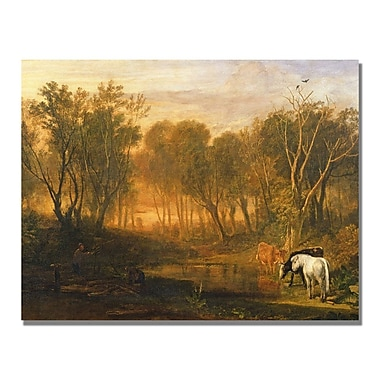 Trademark Fine Art Joseph Turner 'The Forest of Berer' Canvas Art