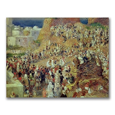 Trademark Fine Art Pierre Renoir 'The Mosque' Canvas Art 35x47 Inches