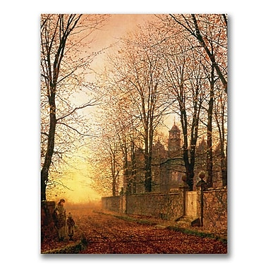 Trademark Fine Art John Grimshaw 'In the Golden Olden Time' Canvas Art