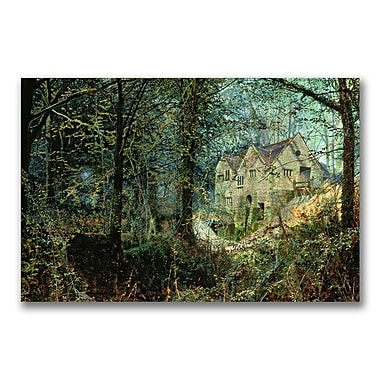 Trademark Fine Art John Grimshaw 'Autumn Glory The Old Mill' Canvas Art 30x47 Inches