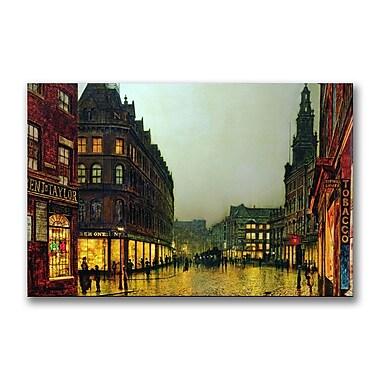 Trademark Fine Art John Grimshaw 'Boar Lane&# Leeds 1881' Canvas Art