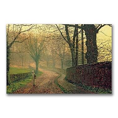 Trademark Fine Art John Grimshaw 'Stapleton Park Near Pontefract' Canvas Art
