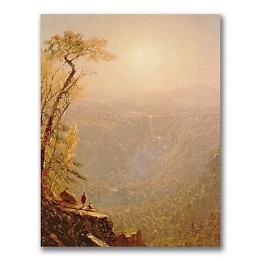 Trademark Fine Art Sanford Gifford 'Kauterskill Clove in the Catskills' Canvas