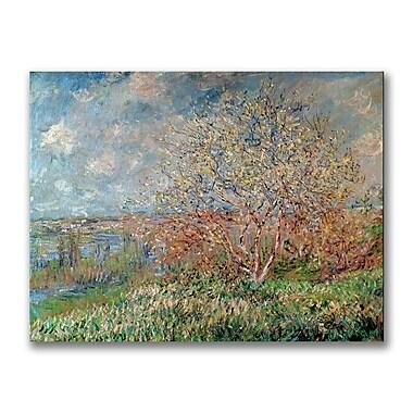 Trademark Fine Art Claude Monet 'Spring 1880' Canvas Art