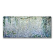 Trademark Fine Art Claude Monet 'Waterlillies Morning II' Canvas Art