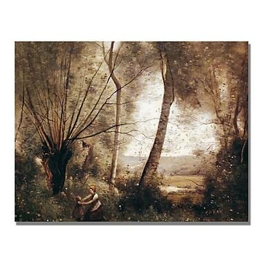 Trademark Fine Art Jean Baptiste Corot 'Landscape' Canvas