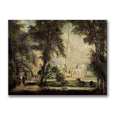Trademark Fine Art John Constable 'Salisbury Cathedral II' Canvas Art