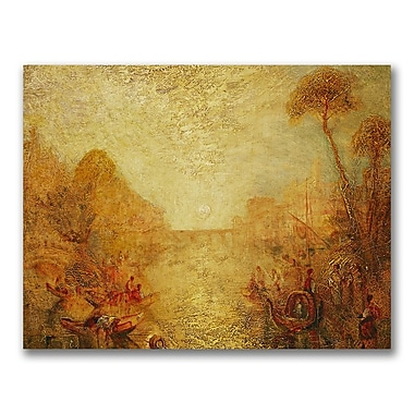 Trademark Fine Art Joseph Turner 'Landscape' Canvas Art