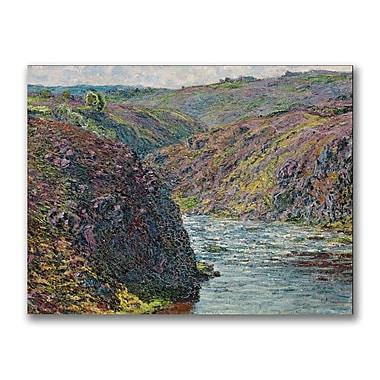 Trademark Fine Art Claude Monet 'Ravines of the Creuse' Canvas Art