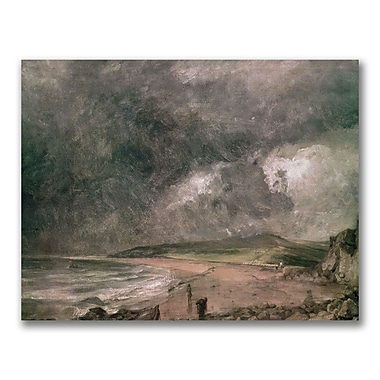 Trademark Fine Art John Constable 'Weymouth Bay Storm' Canvas Art